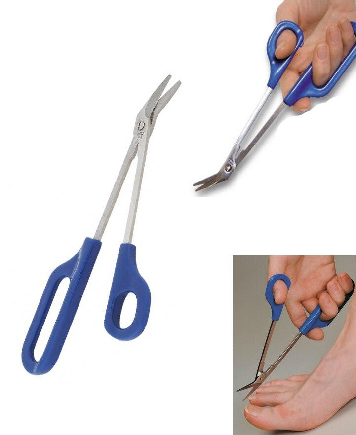 20cm(7.87\'\') Long Reach Easy Grip Toe Nail Toenail Scissor Trimmer ...