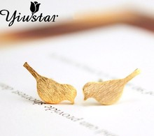 Cute Bird Stud Earrings
