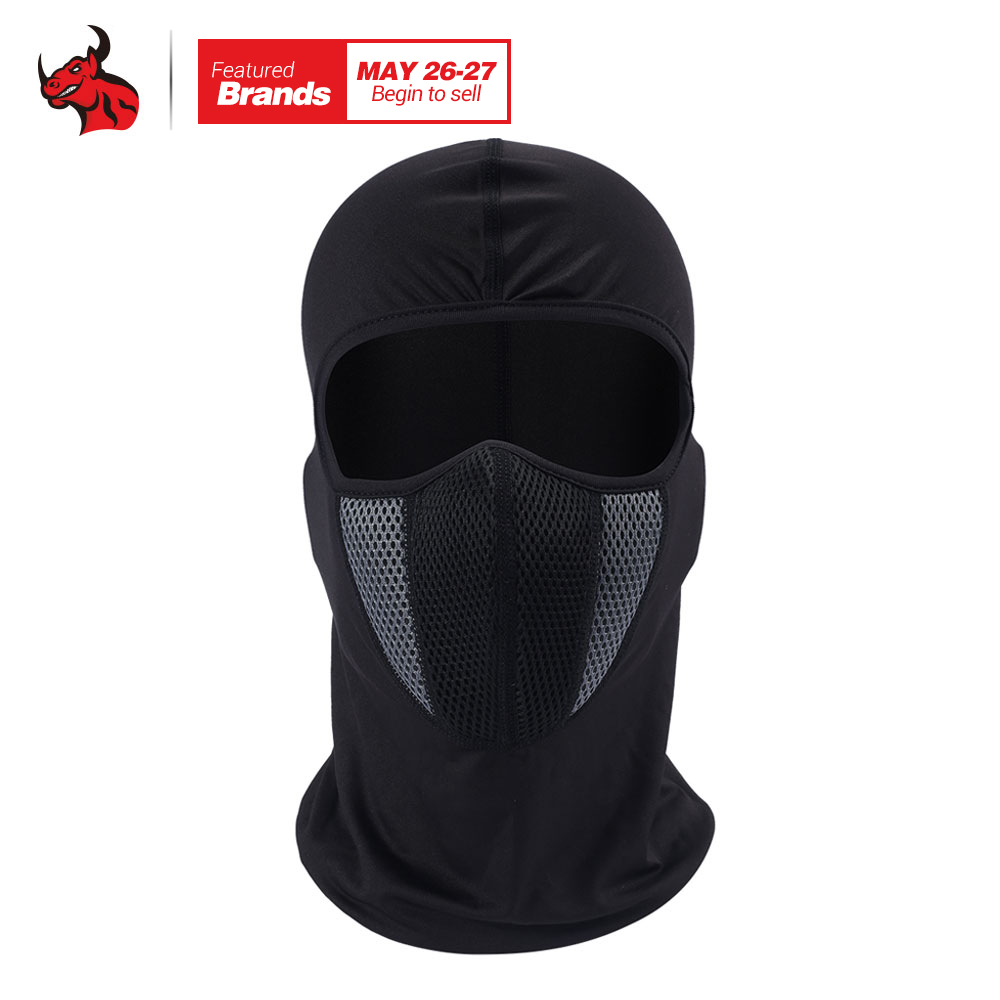 HEROBIKER Balaclava Motorcycle Face Mask Outdoor Motor Helmet Bandana Hood Ski Sport Neck Full Face Mask Windproof Dustproof