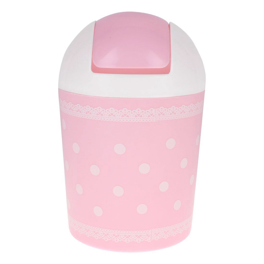 HOT GCZW-Design of lace garbage pink garbage can