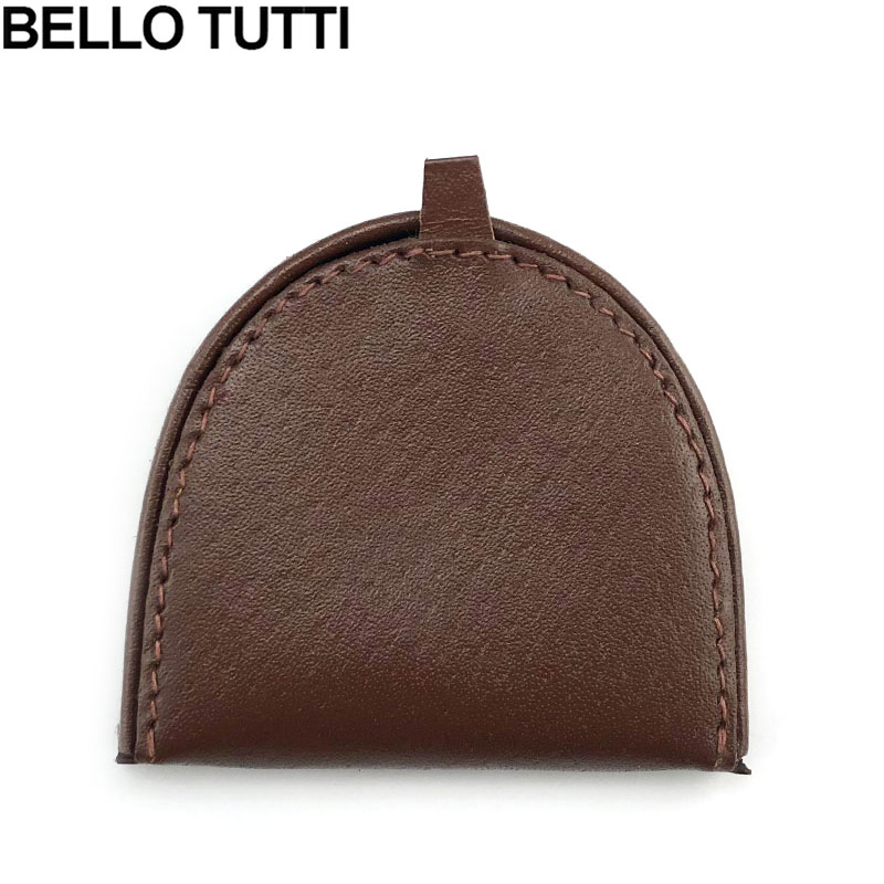 BELLO TUTTI Genuine Pigskin Leather Coin Purse Small Wallet Real Leather Vintage Design Individuation Purse Men Women Coin Bag