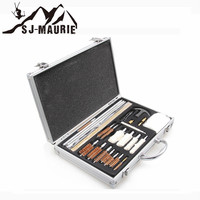 SJ Maurie Outdoor Hunting Gear Gun Cleaning Kit Set 26 pcs Tactical Hunting Equipment for Universal Airsoft Rifle Accessories