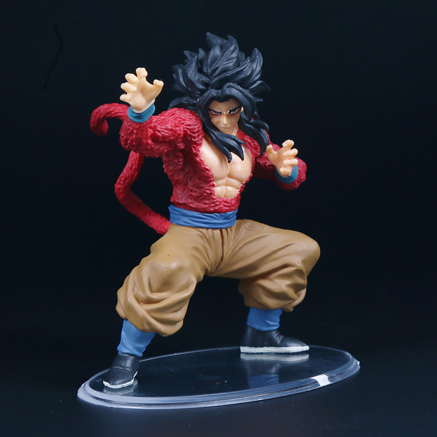 Dragon Ball GT Super Saiyan 4 Son Goku Action Figure Brinqudoes | 10cm