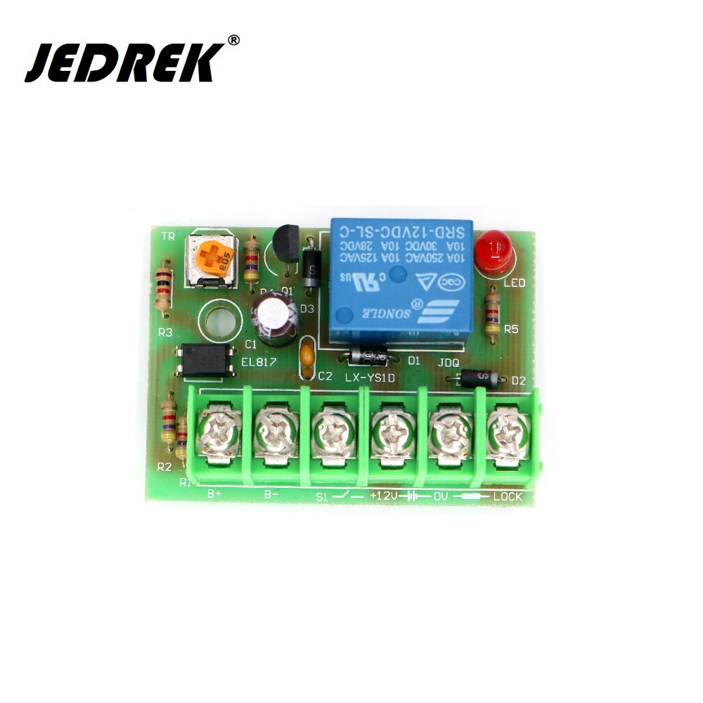 цена на Power Supply Time Delay Module for Magnetic lock electric lock Access Control power board