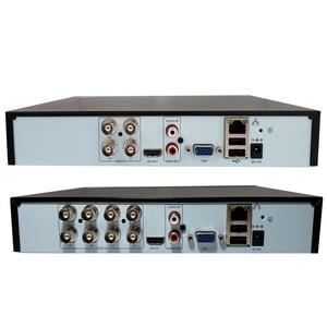 Image 5 - Jvtsmart AHD DVR 4 ערוץ 8 ערוץ H.265 5mp n 4mp n היברידי וידאו מקליט CCTV AHD CVI TVI אנלוגי IP אבטחה 1080 P 4CH 8CH xm