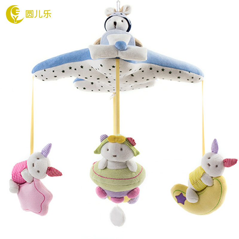 ФОТО baby bed bell toy, baby music rotating bed