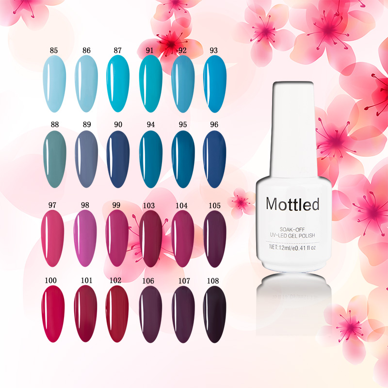 Mottled Gel Nail Polish 108 Colors Hybrid Lacquer Manufactures 12ml Long Lasting In From Beauty Health On Aliexpress Alibaba Group