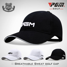 PGM Golf Cap Golf Cap Sports Sunshade Cap White Black For Un