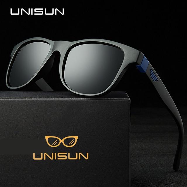 UNISUN Novos Óculos Polarizados Homens Marca Designer UV400 óculos de Sol  Óculos Com Caixa Original 7a32fa5f07