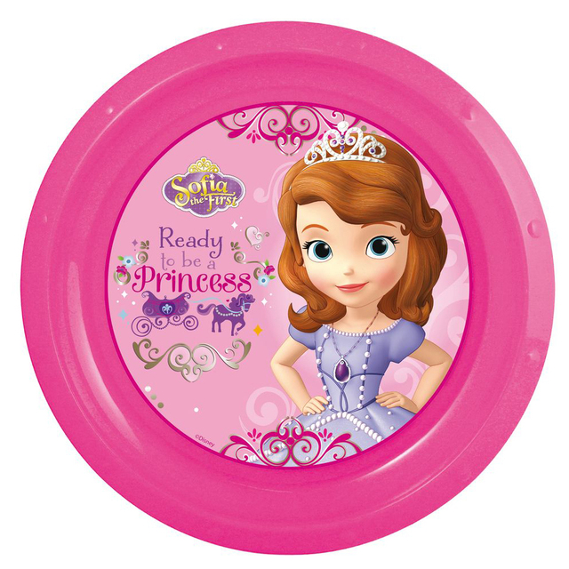 Тарелкапластиковая Stor.ПринцессаСофия