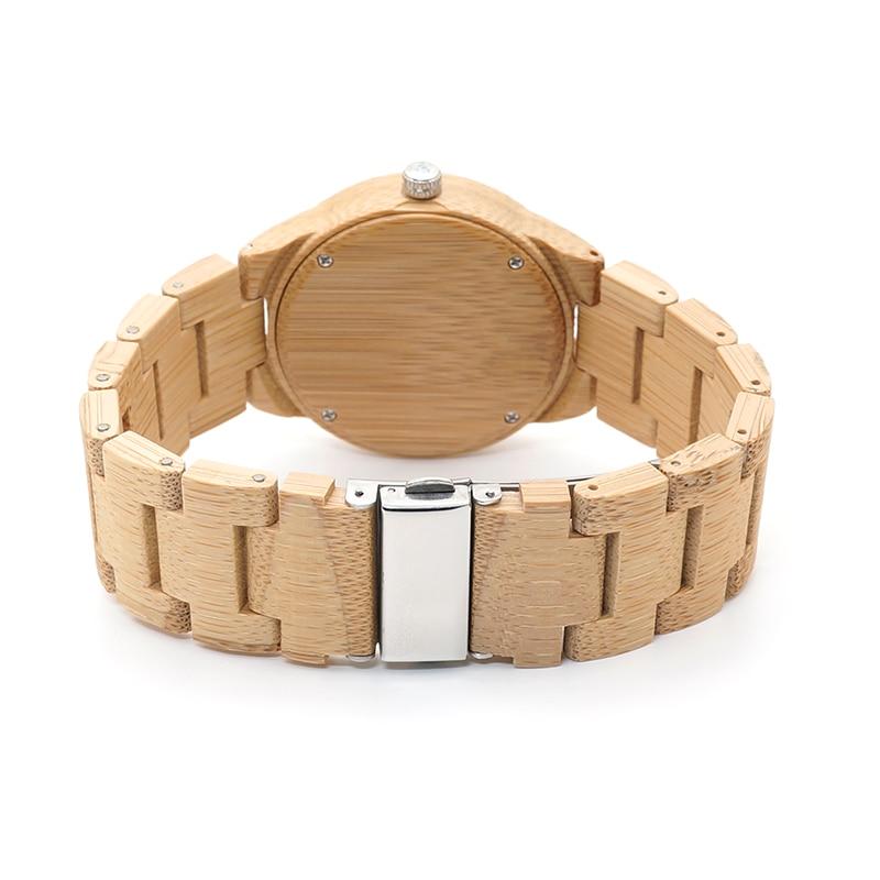BOBO BIRD Bamboo Lovers Watches Timepieces Ағаш тобы - Әйелдер сағаттары - фото 4