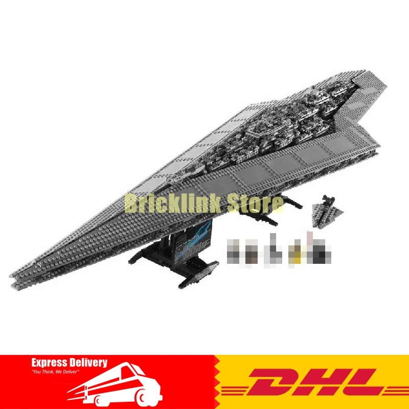 IN STOCK LEPIN 05028 3208PCS Execytor Super Star Destroyer Model Building Wars Kit Block Brick Toy Gift Compatible 10221 lepin 22001 pirate ship imperial warships model building block briks toys gift 1717pcs compatible legoed 10210