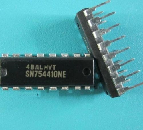 2PCS SN754410 SN754410NE IC HALF-H DRVR QUAD 16-DIP NEW 2pcs at89s52 24pu dip 40 at89s52 dip at89s52 24 programmable flash new and original ic free shipping