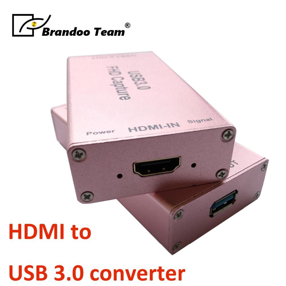 цена на Cost-effective,USB 3.0 HD Video Game Capture 1080P Video Converter HDMI to USB3.0 converter