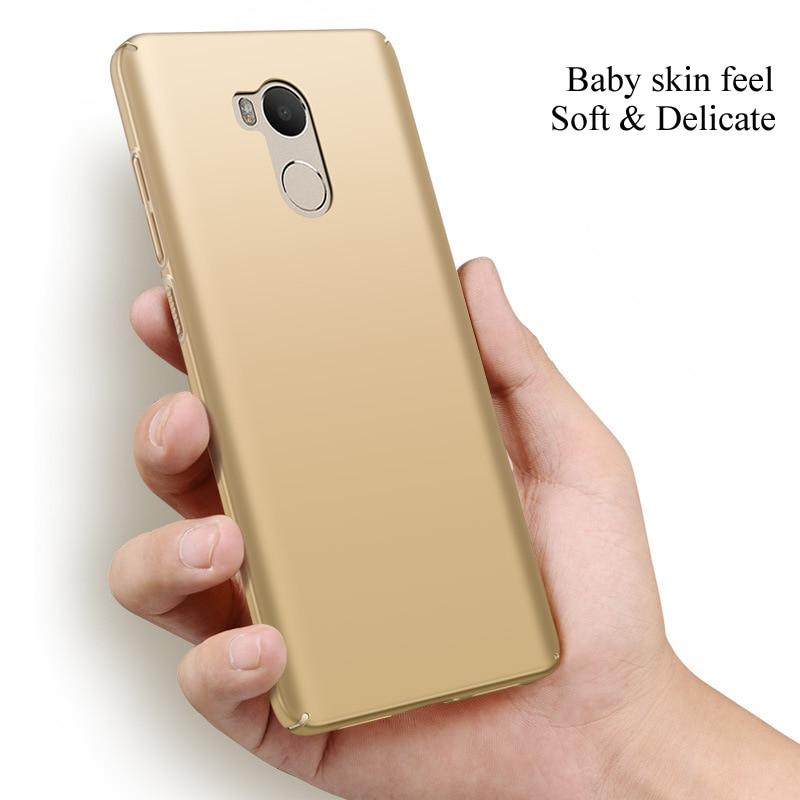 Lyxig hårbaksplast COVER-fodral för Xiaomi redmi 4 Pro-skal till - Reservdelar och tillbehör för mobiltelefoner - Foto 3