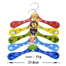 Pet Supplies Kawaii Cartoon Wood Hanger Pure Clothes Special Chihuahua Dog Cat Goods Cloth Hangers