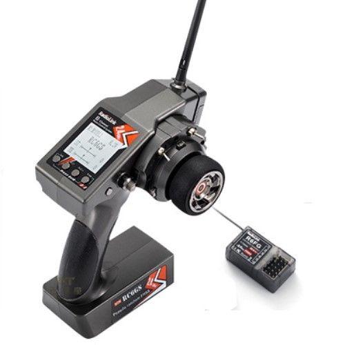 Hotsell RadioLink RC6GS 2,4G FHSS System 6CH Rc Auto Controller Sender & R6FG Gyro Innen Empfänger Zubehör