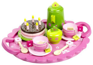 Djeco child toy tea set excellent recommended free shipping