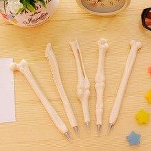 50 Pcs/lot Creative Bone Shape Ballpoint Pens Funy Ball Pen for Kids Gift Korea Stationery School Office Supply Escolar