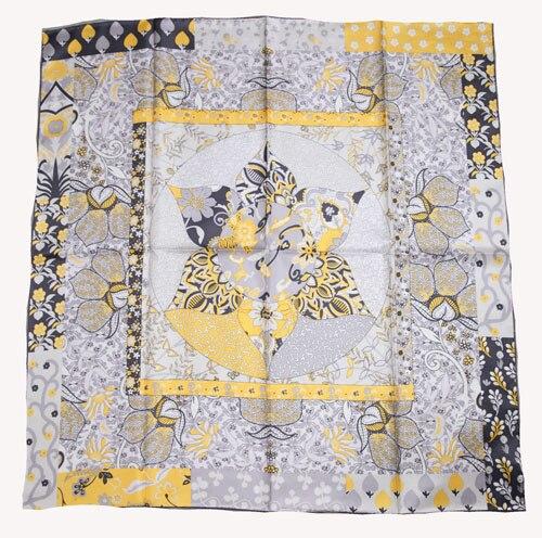 ELEGANT HANDMADE BRAND 100%Twill Silk Scarf TWIC-149429
