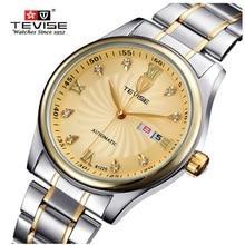 Relogio masculino 2016 TEVISE Hombres Casual Mismo-Viento Automático Reloj Para Hombre Relojes de Primeras Marcas de Lujo de Acero Reloj Montre Homme