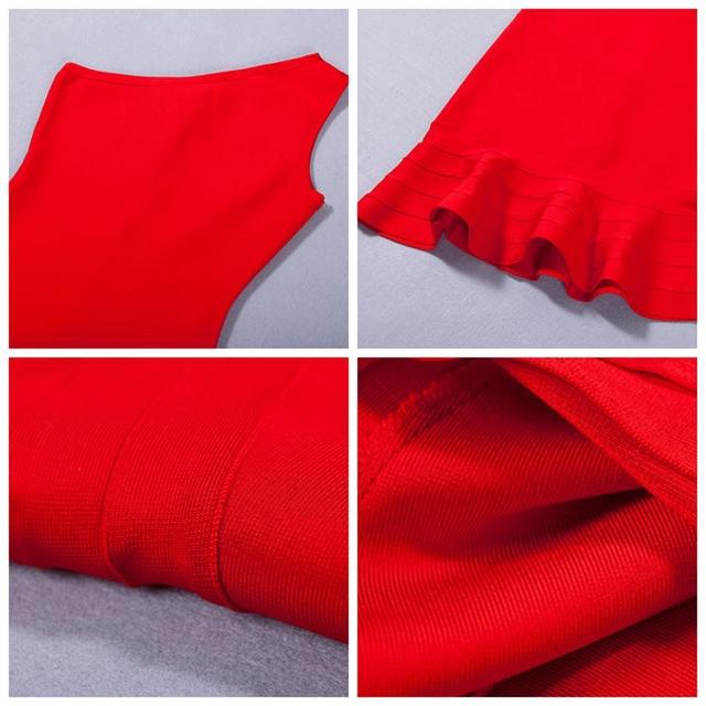 Adyce 2017 nova vestidos hot mulheres sexy bodycon dress de um ombro vermelho preto clássico especial occation festa à noite bandage dress