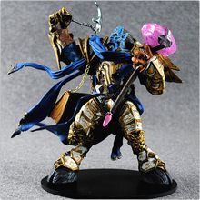 22cm Draenei Paladin Wow Deluxe PVC WOW Model Movie Game Toy Online Game Action Figures Vindicator Maraad Collection Toys B713