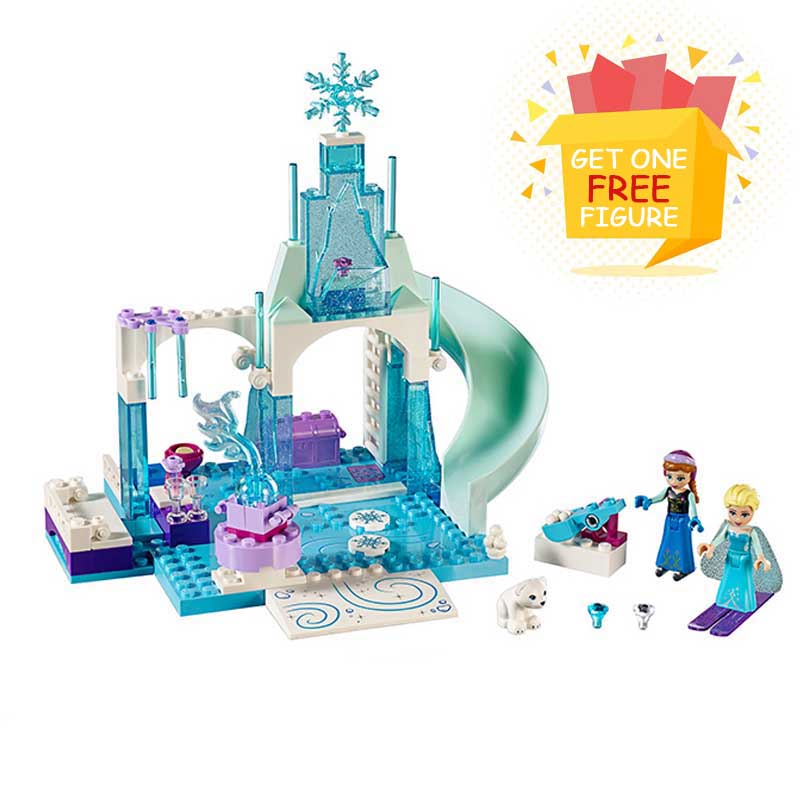 Bela Pogo Compatible Legoe Princess Girls Arendelle Castle Anna Elsa  Gifts For Children Building Blocks Bricks toys for child вигантол в аптеках красноярска
