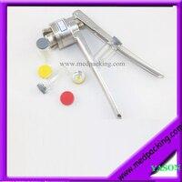 100sets Lot 10ml Glass Vials 20mm Vial Stopper 20mm Flip Off Caps 1pcs 20mm Vial Crimper