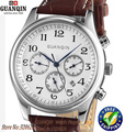 Original GUANQIN Watch automatic men sapphire Waterproof GQ20005)  brand luxury watch men wristwatches leather watch steel watch