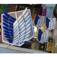 4pcs Set Attack On Titan Survey Corps Wings Cloth Stickers Anime Ver Recon Corps Emblem Shingeki
