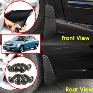 Image 5 - Mud Flaps For Nissan Almera G15 G11 RU Version 2012   2018 Bluebird Sylphy 06 14 Splash Guards Mudguards Fender 2013 2014 2015
