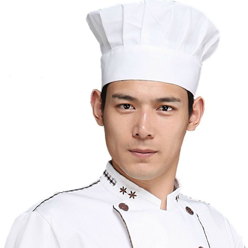 All about Hyzrz Chef Hat Adult Adjustable Elastic Baker Kitchen ... 98bdab8bbc2f