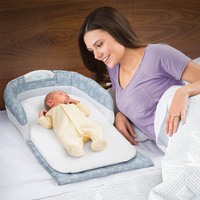 Baby Safety Isolation Bed Portable Folding Baby Crib Mummy Bag Infant Newborn Travel Bed Cot Bags Infant Cotton Sleepping Basket