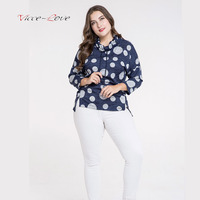 2018 Autumn New European And American Big Code Women S Foreign Trade Long Sleeved Casual T