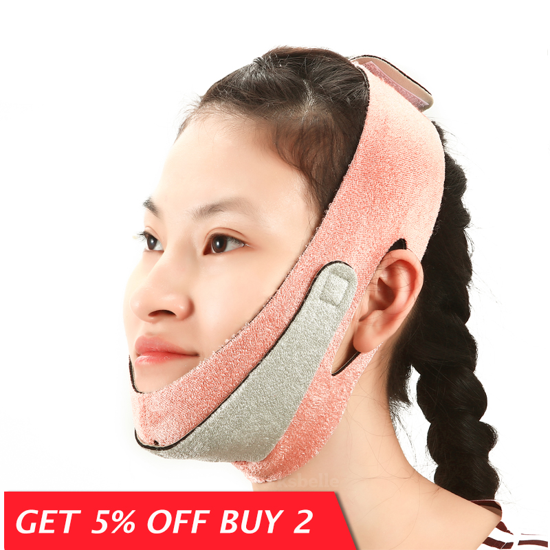 Face Lift Up Belt Thin Face Mask Slimming Facial Thin Massager / Double Chin reducer/Face Shaper Bandage/ lift chin Belt