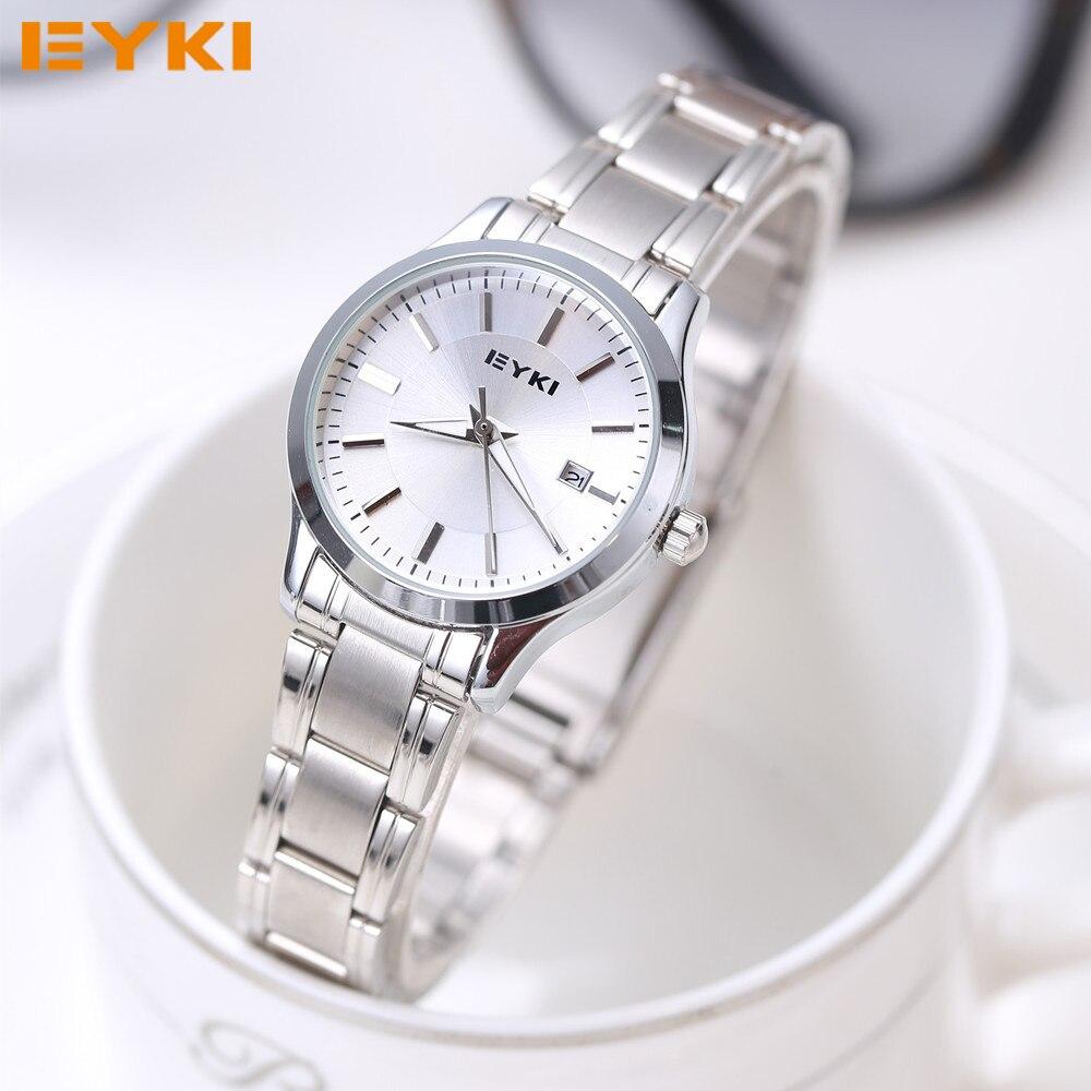 EYKI Quartz Ladies Wristwatch Round Casual Business Brand Lus