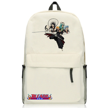 Anime Bleach Backpack Cartoon Kurosaki ichigo Bags Oxford Student School Bag Unisex