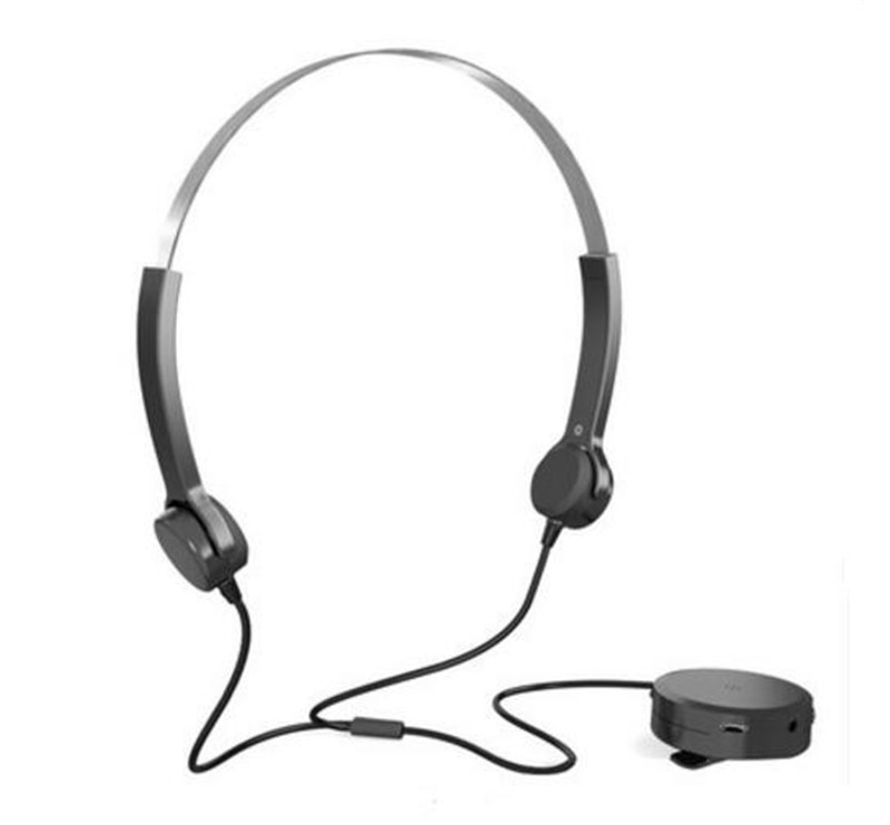 bone conduction active noise cancelling headphones hearing aid headset with  retractable headband long standby earphone bone conduction earphones headset over ear headphones active noise cancelling hifi neckband for music listening to the phone