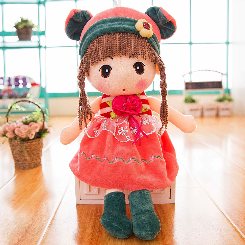 42cm Fantasy Stuffed Baby Girl Dolls Plush Wedding Rag DollGirls Princess Plush toys Dolls Children in Accompany Sleep Love Gift