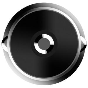 Image 5 - Original Xiaomi Auto Ladegerät 18W Max QC3.0 Volle Metall Messing Gehäuse Ring Licht Dual USB Smart Port Schnell Ladung 9V = 2A 5V = 2.4A