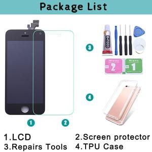 Image 5 - שחור/לבן עצרת LCD תצוגת Digitizer עבור iPhone 6s AAA איכות LCD מגע מסך עבור iPhone 6 7 5S לא מת פיקסל עם מתנות