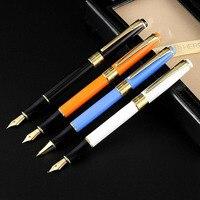 1Pcs Calligraphy Curvde Nib Straight Nib Hooded Nib Fountain Pen With Gift Box Custom Lettering Office