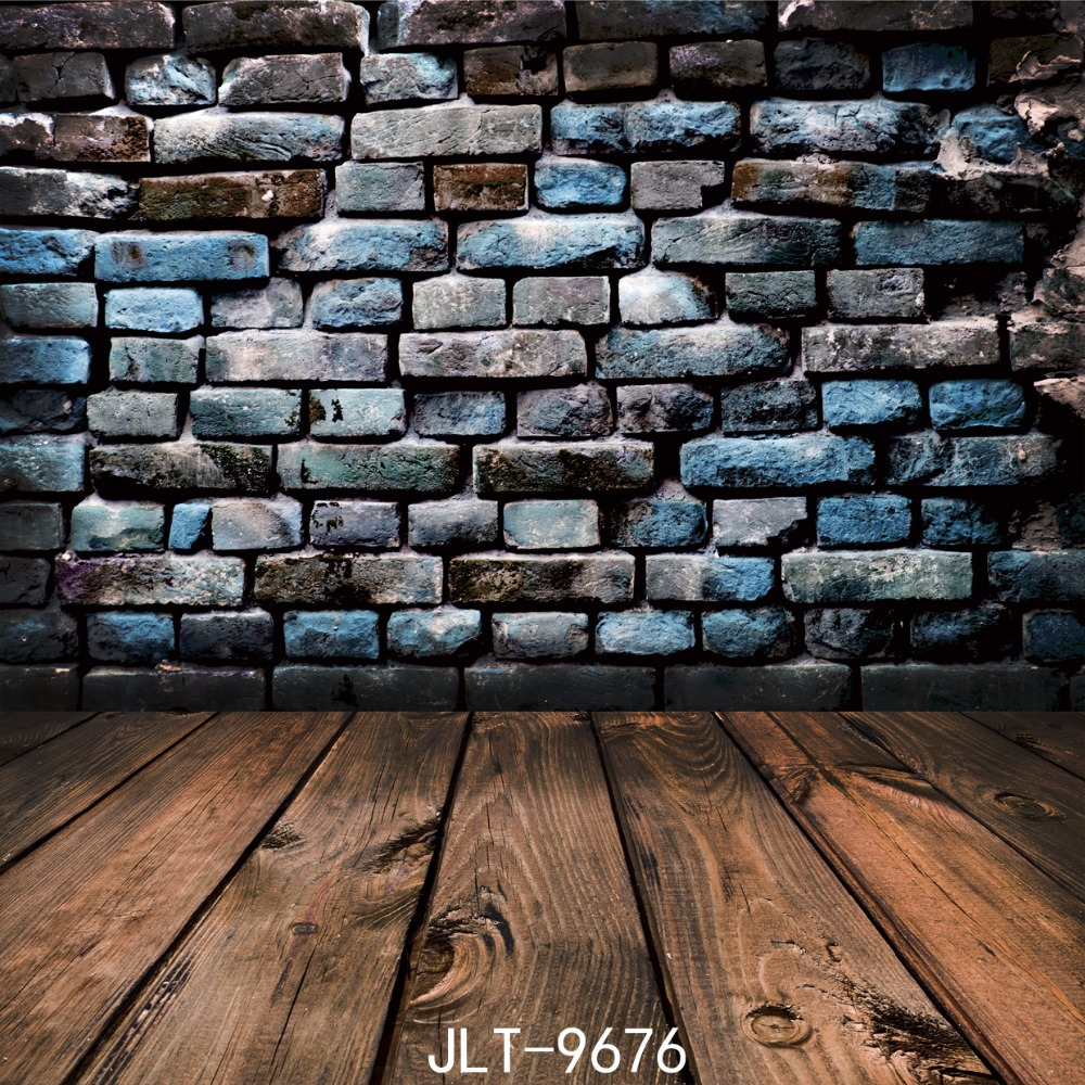 Brick wall Backdrops Wood Floor Bricks Backdrop Backgrounds for Children Photo Studio 8X8FT Fond studio photo vinyle SJOLOON graffiti backdrop photography backdrops backgrounds for photo studio fond studio photo vinyle achtergronden voor fotostudio