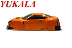 Image 2 - YUKALA 1/10 להסיר בקרת רכב חלקי PVC צבוע קליפת גוף 1/10 R/C מירוץ על כביש הסחף רכב 445*190mm בסיס גלגלים 250mm