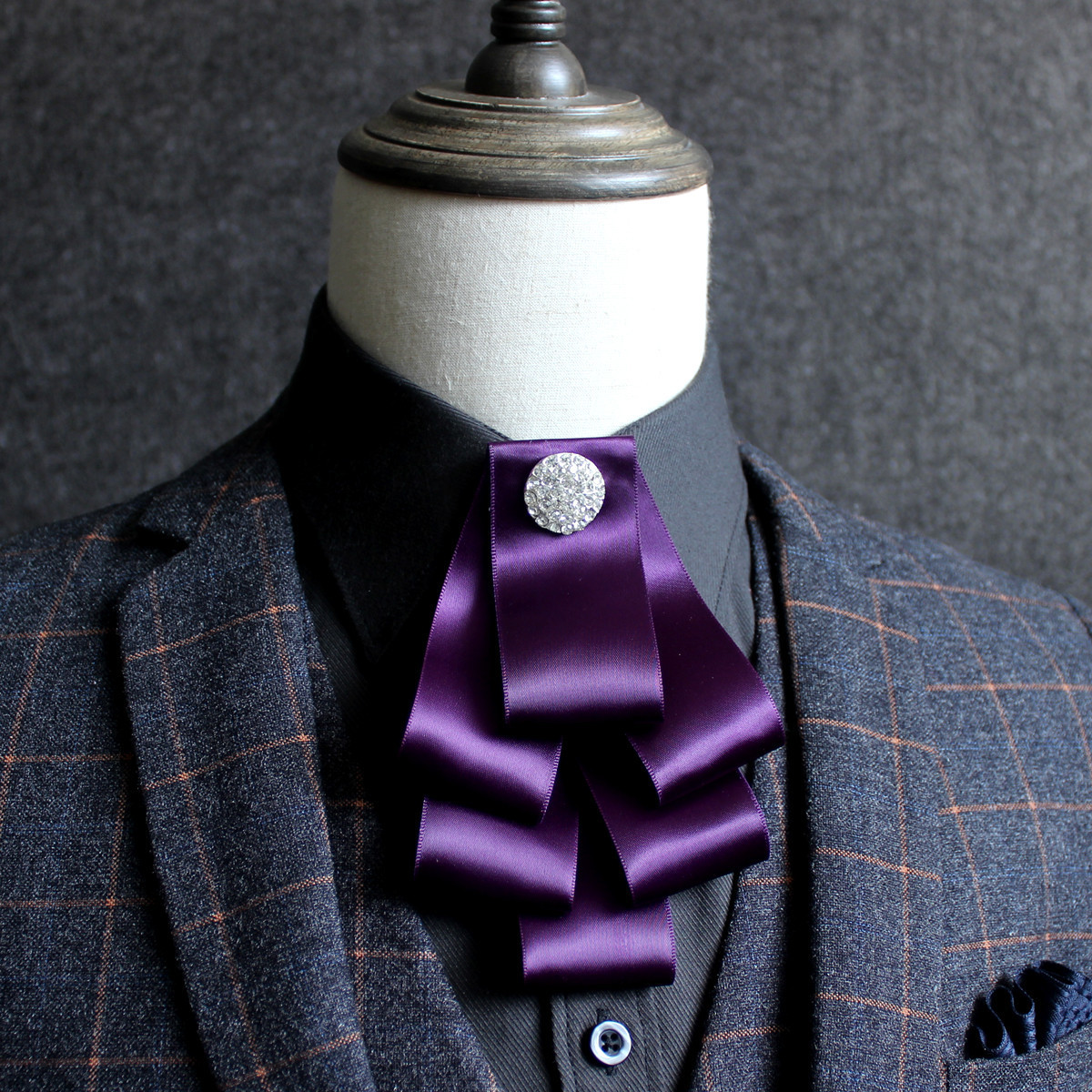 Pyjtrl Krawatten Für Männer Mode Band Kragen Blume Hochzeit Bräutigam Bankett Kleidung Zubehör Floral Krawatte Moderater Preis Bekleidung Zubehör