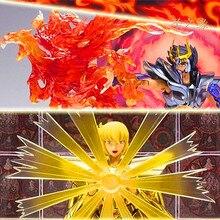Frete grátis lt modelo saint seiya pano mito luta habilidades efeitos para virgo shaka phoenix ikki
