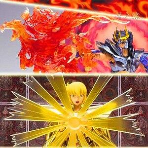 Image 1 - Frete grátis lt modelo saint seiya pano mito luta habilidades efeitos para virgo shaka phoenix ikki