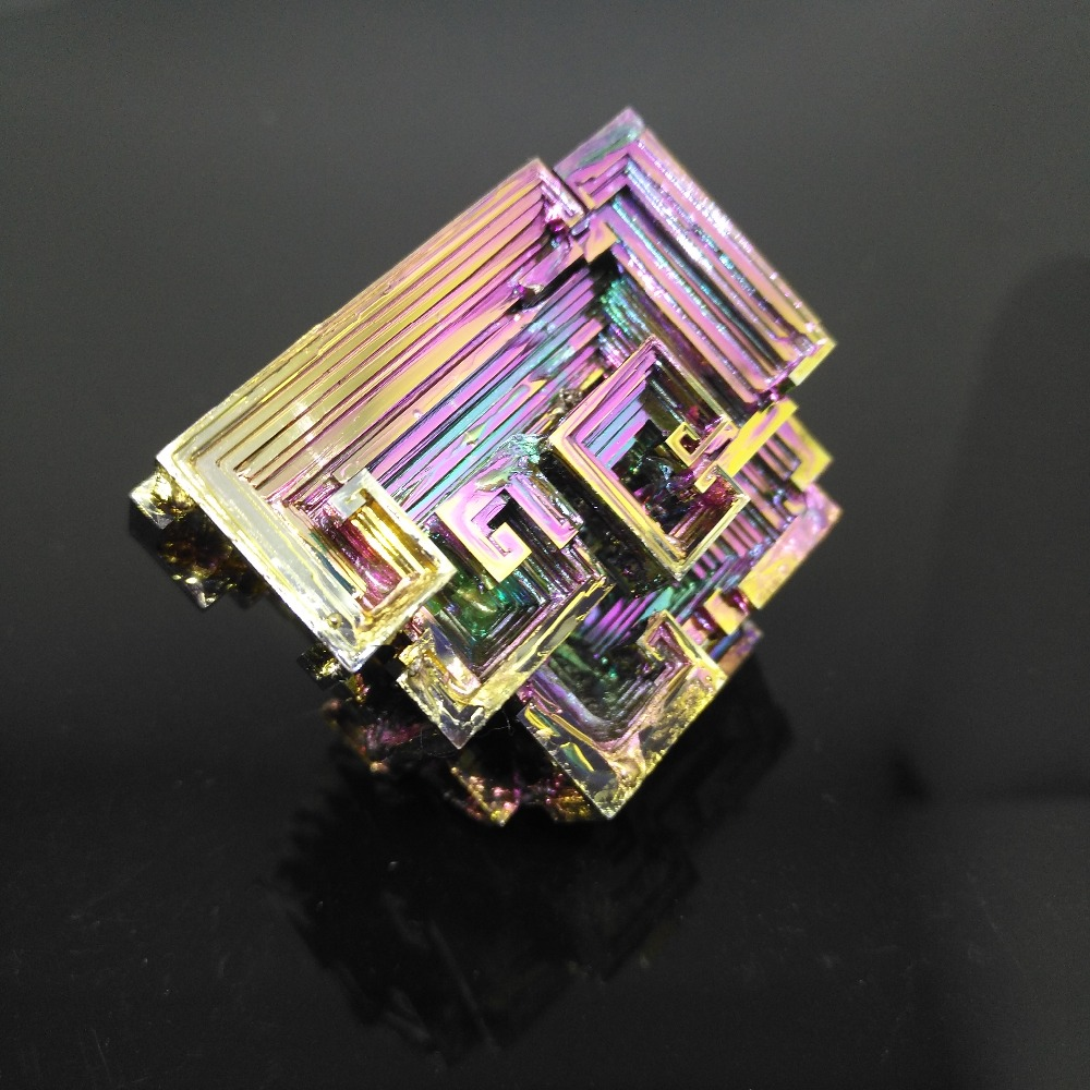 Bismuth Crystals 80g Bismuth Metal crystal цена