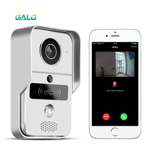 WIFI Video Door Phone with Android ISO App/RFID & Code Keypad Doorbell support E